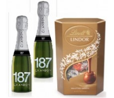 2 CHANDON 187 y LINDT SURTIDO