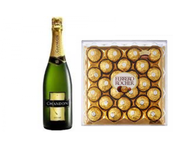 CHANDON y Ferrero Rocher 24u